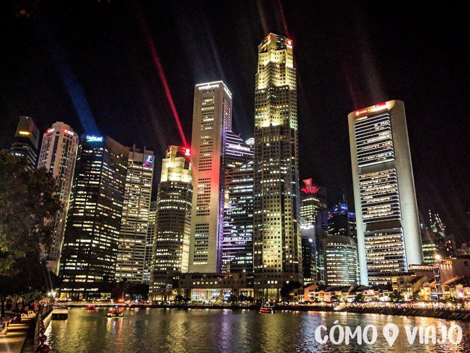 Boat Quay en Singapur