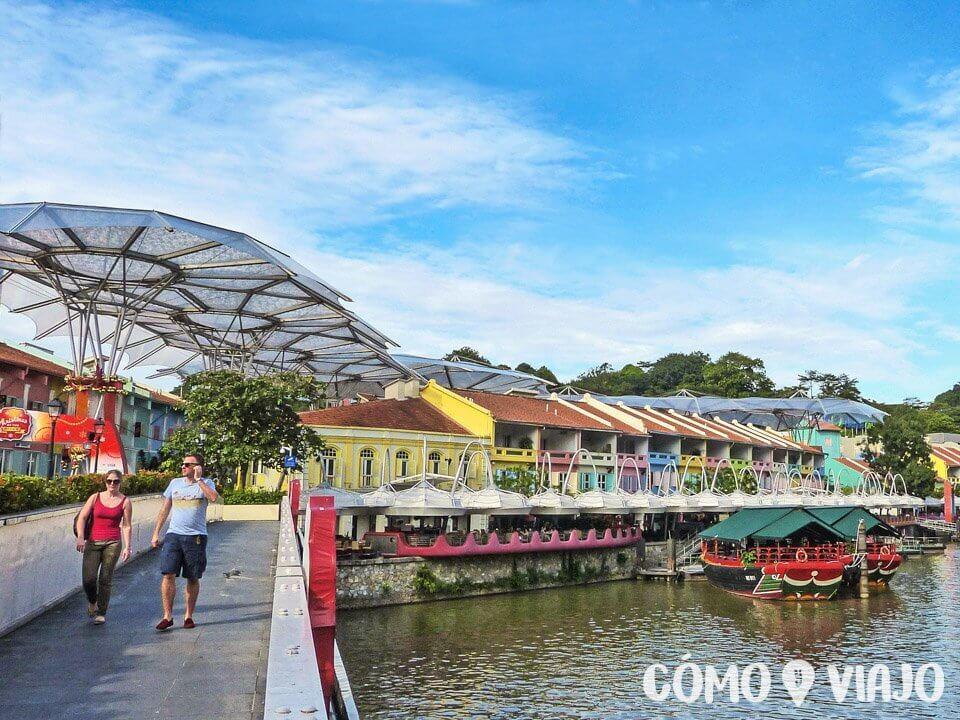 Clarke Quay en Singapur