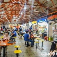 Hawkers donde comer barato en Singapur