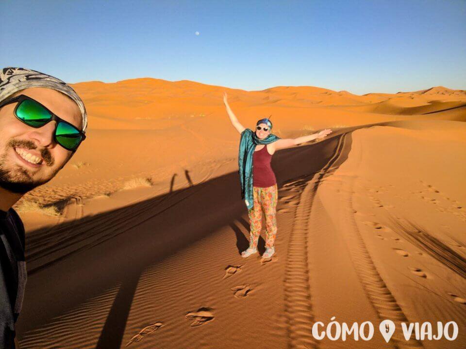 Llegamos al Desierto del Sahara desde Fez