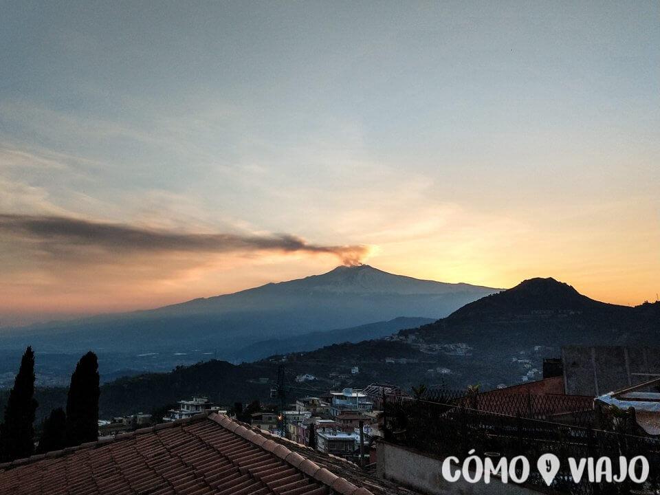 Qué hacer en Sicilia ver el Monte Etna
