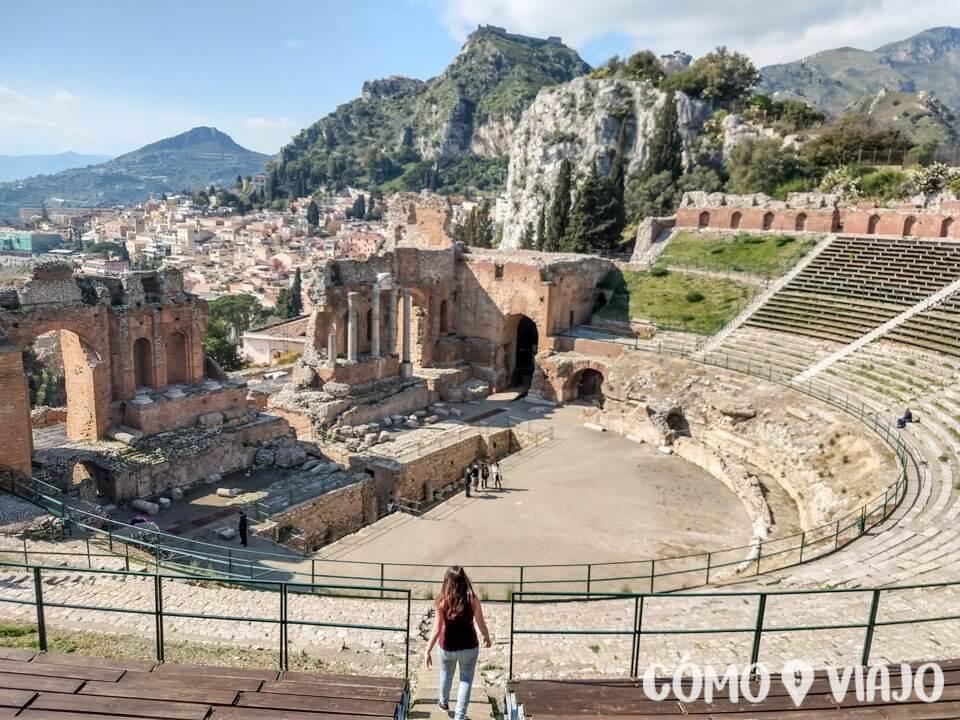 Qué hacer en Sicilia Teatro Antiguo de Taormina