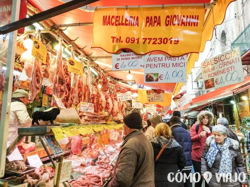 Qué hacer en Sicilia mercados de Palermo