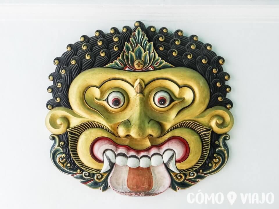 Cabeza en Palacio en Yogyakarta