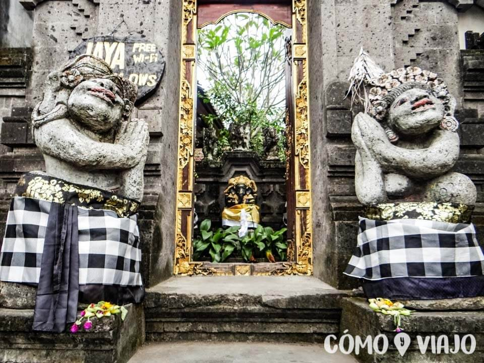Calles de Ubud, Bali