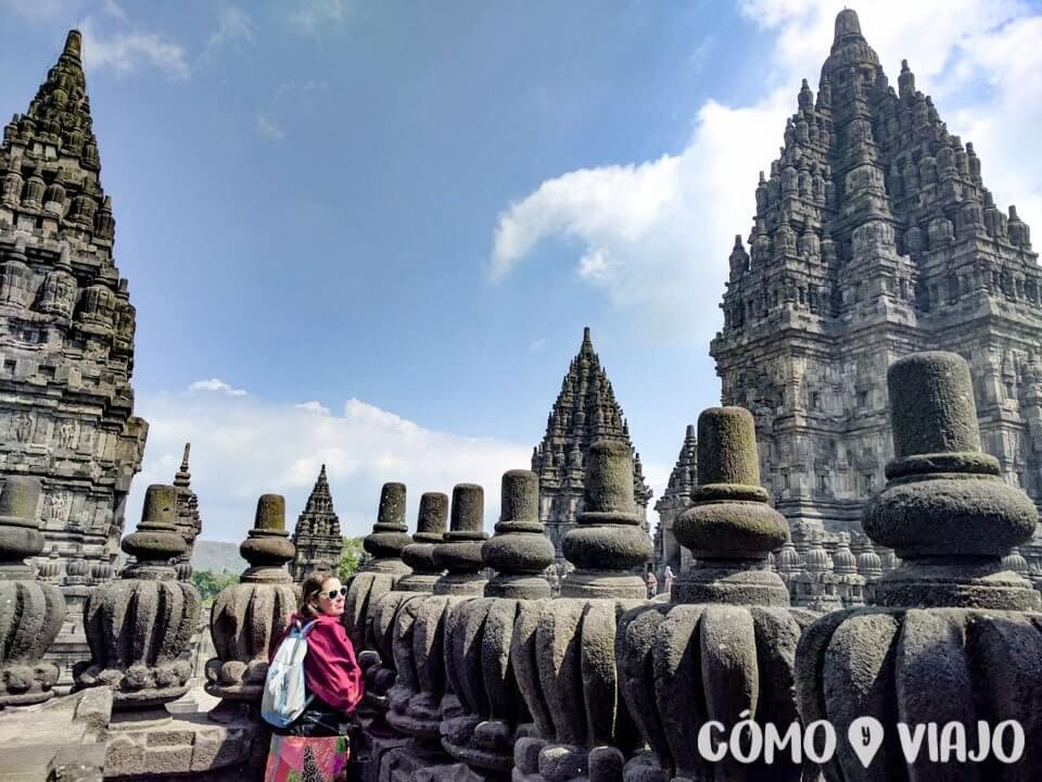 Vistas de Prambanan