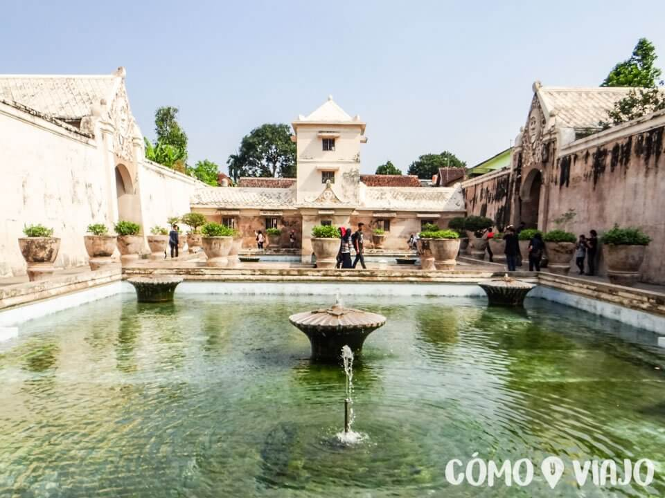 Water Palace en Yogyakarta