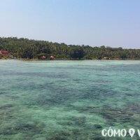 Vista de la playa de Karimunjawa, Indonesia