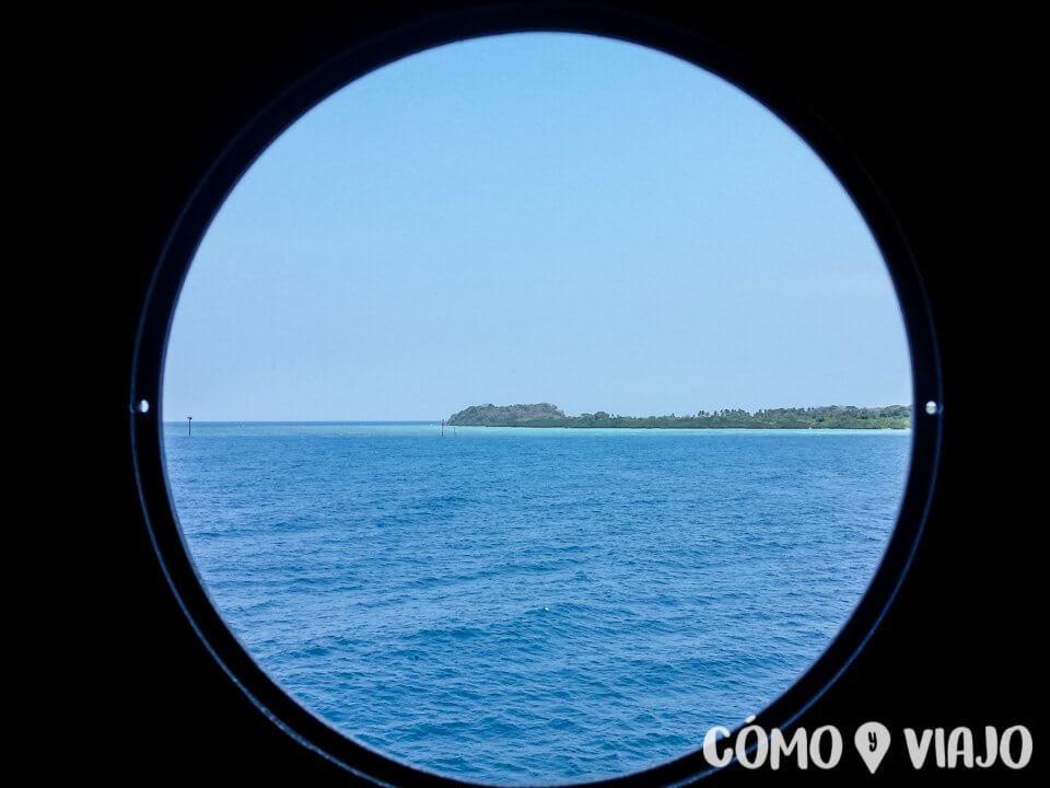 Vista al llegar a Karimunjawa
