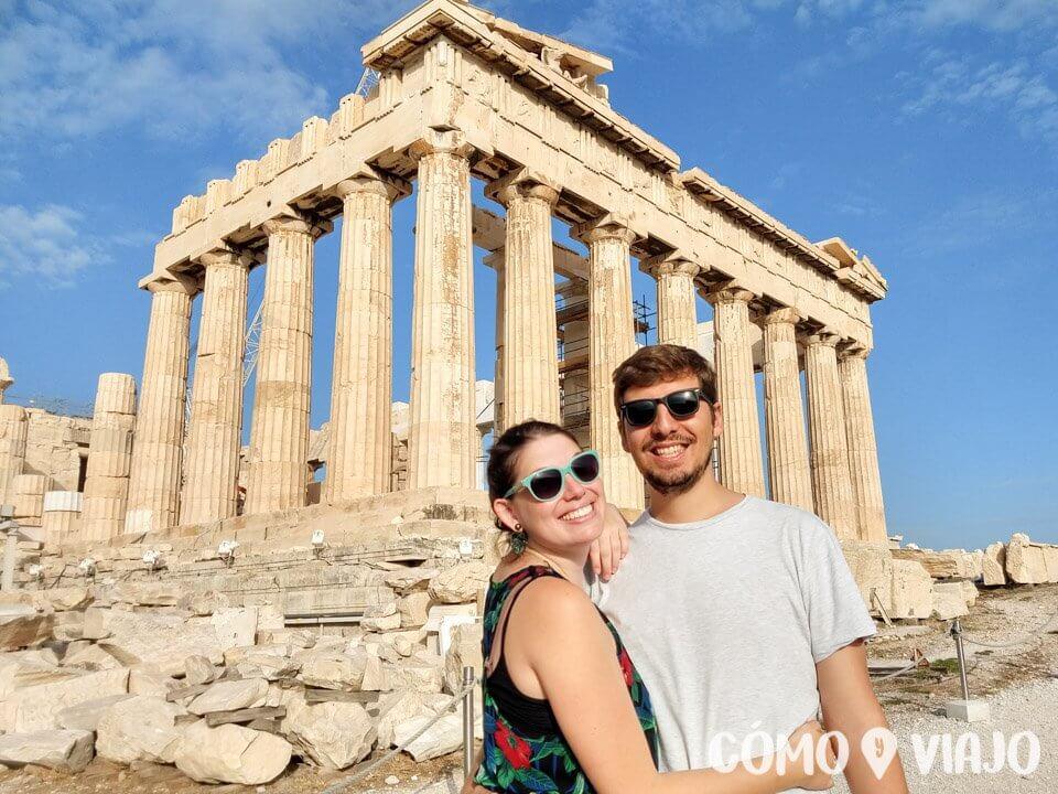 Partenon de Atenas una de las cosas que ver en Atenas