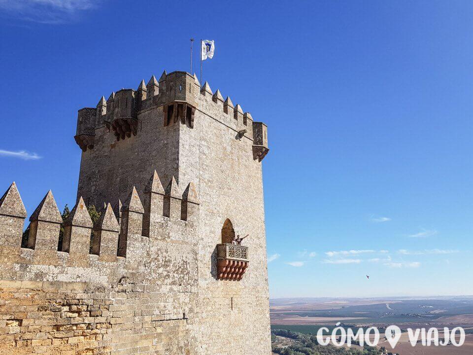 Castillo de Almodóvar en la ruta por el sur de España