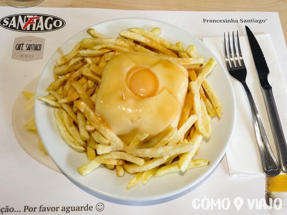 Qué comer en Oporto, Francesinha