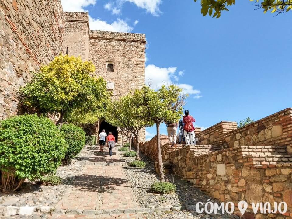 Alcazaba de Málaga en qué hacer en Málaga en un día