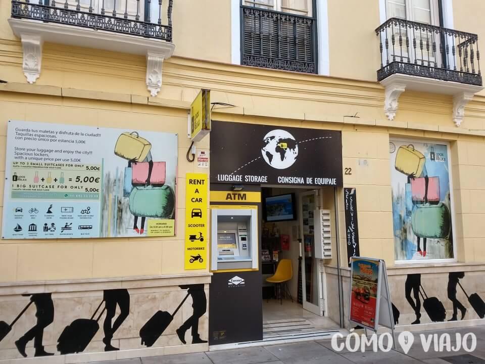 Dejar el equipaje si vas un día a Málaga